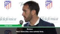 """Atlético - Godín : """"Nous sommes forts et optimistes"""""""