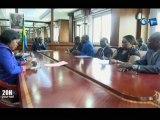 RTG/Séance de travail avec le porte-parole du comité de revitalisation duCNDet levice-présidentde la république
