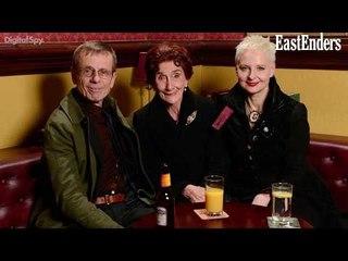 EastEnders: Lofty & Mary at Dr Legg's funeral   Masood's nieces arrive (Soap Scoop Week 8)