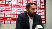 En conférence de presse : J.A.VCM / Levallois (2/2)