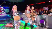 Part 2 Becky Lynch and Ronda Rousey brawl with The Riott Squad after Raw Raw Exclusive Feb. 11 2019