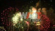 New York celebrates the Spring Festival with fireworks show