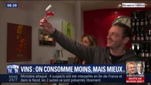 Les Français consomment moins de vin, mais de meilleure qualité