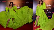 Surveen Chawla dazzles in Layered Dress at Filmfare Glamour and Style Awards   FilmiBeat