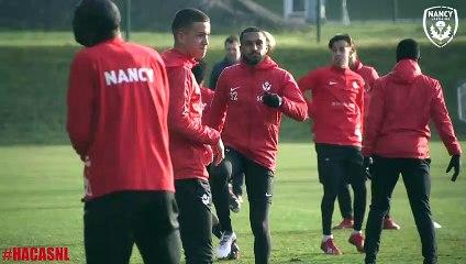 L'avant-match de Le Havre-Nancy