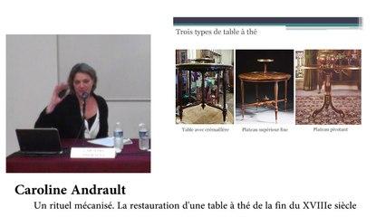 Rencontres des Gobelins | De fer et d'acier, la mécanique des meubles (2/2)