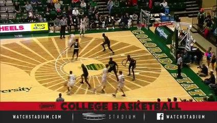 San Diego State vs. Colorado State Basketball Highlights (2018-19)