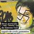 Les portraits vandalisés de Simone Veil ont été rénovés