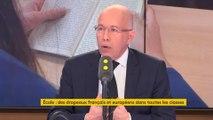 """Drapeaux en classe : """"Cela va servir à réinstaller les valeurs de la République"""" défend Ciotti"""