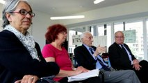 Pierre Gascon en visite de la classe de CM2 de Lucie Aubrac l'an dernier