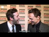 Chris O'Dowd Interrupts Tom Hiddleston - Empire Awards 2012
