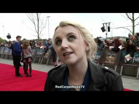 Evanna Lynch  Interview - Harry Potter Studio Tour Opening