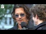 Johnny Depp at the Dark Shadows European Premiere