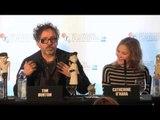 Frankenweenie European Premiere Interviews London Film Festival 2012