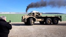 Le retour du T100,  le Géant du désert, dans son hangar du Montellier (01)