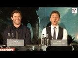 Thor Vs Loki  Tom Hiddleston & Chris Hemsworth Interview Thor The Dark World Premiere