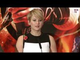 Jennifer Lawrence Interview - Red Carpet Nerves - Hunger Games Catching Fire Premiere