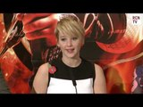 Jennifer Lawrence Interview - Training - Hunger Games Catching Fire Premiere