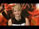 Jennifer Lawrence Interview Hunger Games Catching Fire Premiere