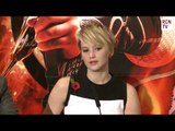 Jennifer Lawrence Interview - New Katniss Outifts - Hunger Games Catching Fire Premiere