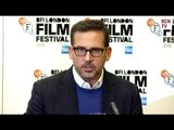 Steve Carell Interview - The Real John Du Pont - Foxcatcher Premiere