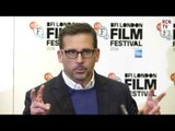 Steve Carell Interview Foxcatcher Premiere