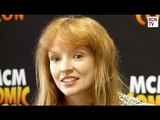 The Hunger Games Mockingjay - Annie Cresta -  Stef Dawson Interview
