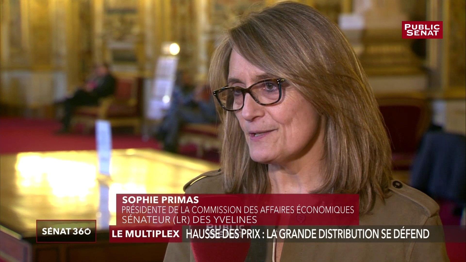 Loi Égalim : « Le compte n'y est pas du tout pour les agriculteurs », estime Sophie Primas