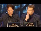 Johnny Depp Is Too Cool - James Corden & Rob Marshall Interview