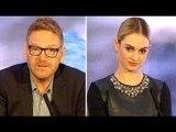 Cinderella vs Feminism - Lily James & Kenneth Branagh Interview