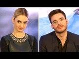 Cinderella Press Conference - Lily James, Richard Madden, Kenneth Branagh