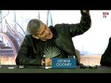 George Clooney On Fighting Hugh Laurie - Tomorrowland Premeire