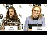 Suffragette Press Conference  - Meryl Streep & Carey Mulligan
