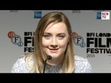 Saoirse Ronan Interview - Domhnall Gleeson & Love Triangles