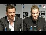 Michael Fassbender & Kate Winslet On Steve Jobs Filming