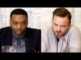 Triple 9 Chiwetel Ejiofor, Anthony Mackie & Aaron Paul Interview