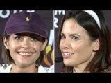 Arrow Season 5 Willa Holland & Katrina Law Interview
