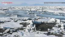 Lakes of Melted Snow are Causing Antarctic Ice Shelves to Bend