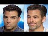 Star Trek Beyond Chris Pine & Zachary Quinto Interview