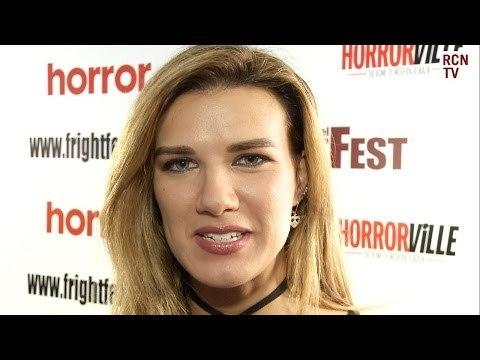 Natalie Burn Interview Downhill Premiere