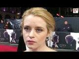 Claire Foy Interview The Crown Netflix Premiere