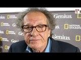 Geoffrey Rush Interview Genius Premiere