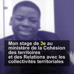 Mon stage de 3ème au ministère : Moses, élève du collège Robert Doisneau à Clichy-sous-Bois