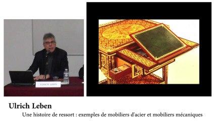 Rencontres des Gobelins | De fer et d'acier, la mécanique des meubles (1/2)
