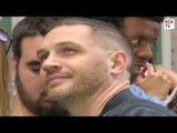 Tom Hardy Meets Fans At Swimming With Men Premiere