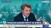 """Gilets Jaunes: François Baroin rappelle que """"l'ordre public est la responsabilité de l'État"""""""