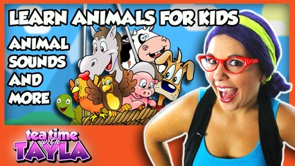 Learn Animals for Kids - Animal Sounds and More