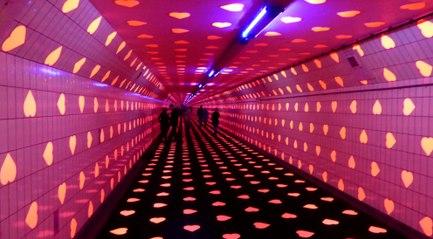 'Tunnel of love' trekt duizenden kijkers / Rotterdam Zuid 2019