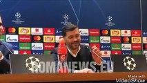 """Conceição: """"Di Francesco? Ho chiesto scusa. Zaniolo può diventare un grande calciatore"""""""