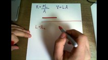 A ductile metal wire has resistance R. What will be the resistance of this wire in terms of R if it is